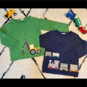 Baby Boden Boys'  Long Sleeve Shirts Cars, 2-3Y